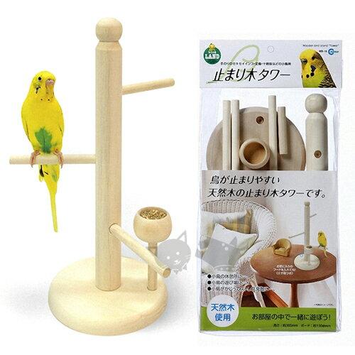 《日本Marukan》MB-16天然木製鳥用皿食器 / 鳥站台好窩生活節 - 限時優惠好康折扣