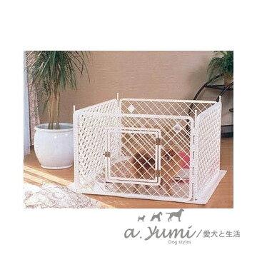 ayumi愛犬生活-寵物精品館:IRIS四片式寵物圍欄寵物柵欄-H-604