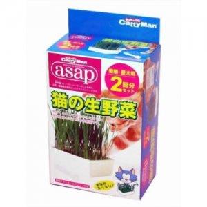 《日本ドギーマン 》 日本進口貓生野菜2回份 / 天然自生貓草