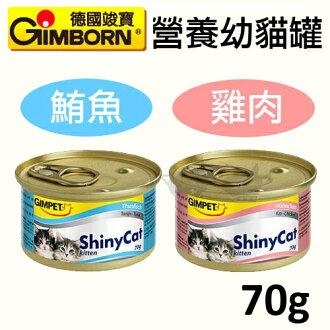 《德國竣寶GIMPET》幼貓專用貓罐 70g x 12罐入 - 2種口味 / 駿寶貓罐