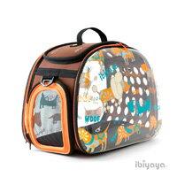 《IBIYAYA 依比呀呀》透明膠囊寵物提包FC1220-W