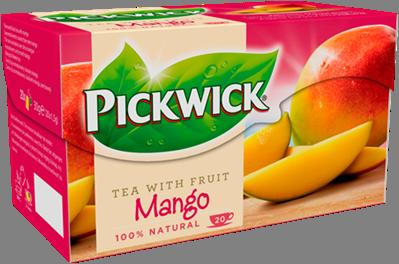 荷蘭PICKWICK-品味芒果水果茶