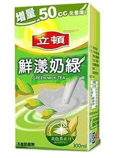 立頓鮮漾奶綠茶300ml*24入箱【合迷雅好物商城】