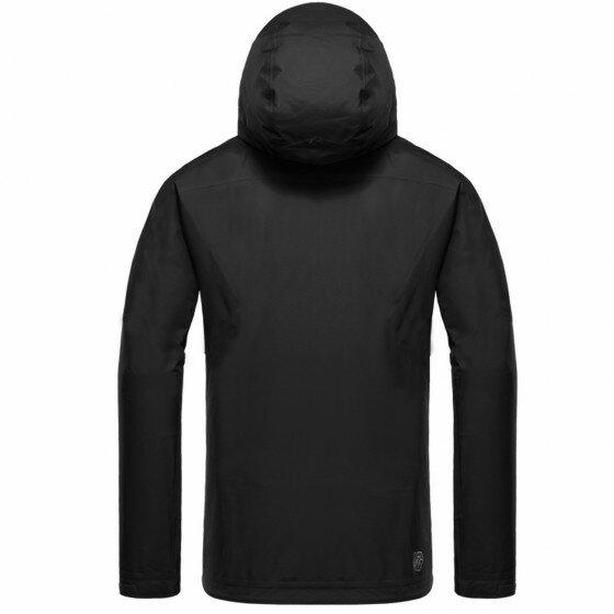 台灣《EGX》WB-1 男款輕量戶外外套(黑)