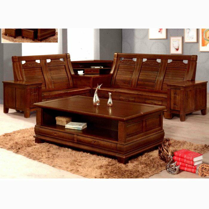 【尚品傢俱】※特別優惠※ K-688-16 伊賀 L型木椅組/木製沙發組/辦公室洽談桌椅組/居家客廳會客木椅組