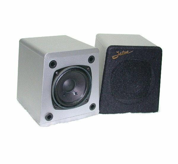 ANV【環繞喇叭】~~睱疵品~~捷登3吋全音域銀色木質喇叭(LD-3004WS)一個