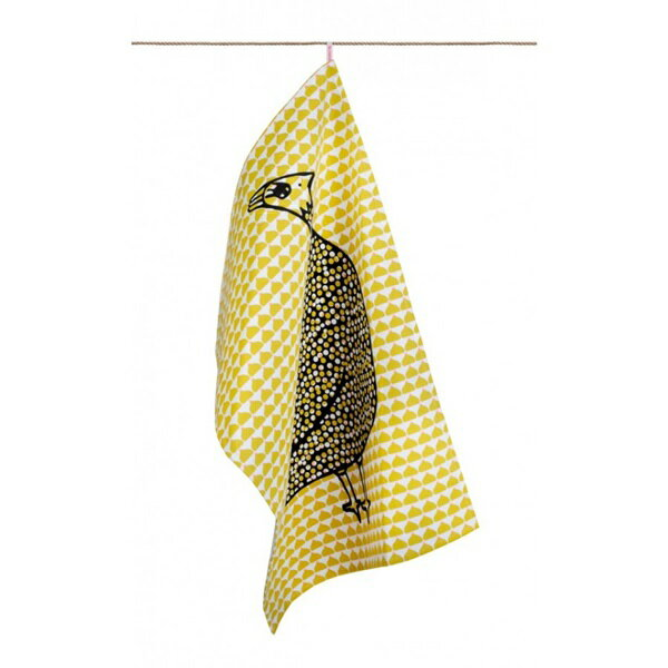 《法國 La Cocotte Paris》Ochre Chic Chick Paulette Tea Towel 茶巾 0