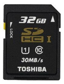 可傑 Toshiba 東芝公司貨 SDHC 32GB Class10 30MB/s UHS-I SD 記憶卡
