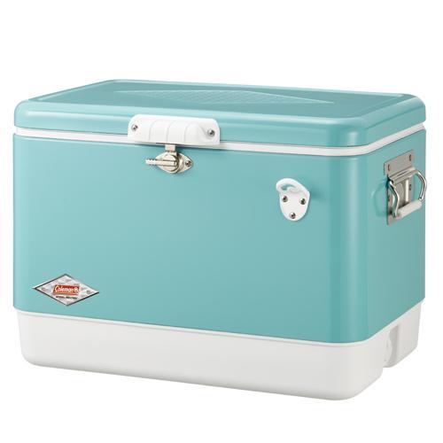 ├登山樂┤美國 Coleman 懷舊系列 51L 美國藍經典鋼甲冰箱#CM-03739