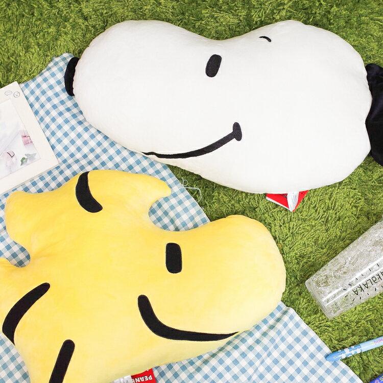 PGS7 日本史努比系列商品 - 史努比 史奴比 Snoopy 頭型 飽滿 抱枕 糊塗塔客 玩偶【SJZ71534】