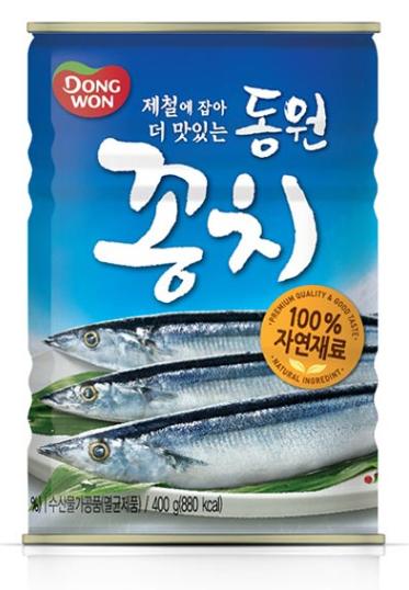 DONGWON 韓國 秋刀魚罐頭 400g