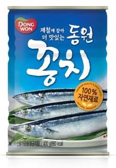 DONGWON 韓國 秋刀魚罐頭 400g★1月限定全店699免運