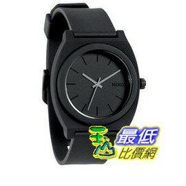 [103 美國直購] 手錶 Nixon Time Teller P Watch - Matte Black