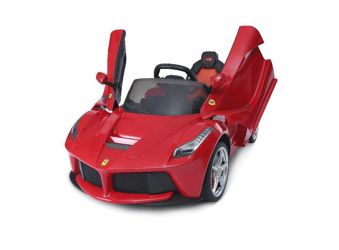 Red LaFerrari RC Kids Electric Ride-On Car Lights and Sound 0