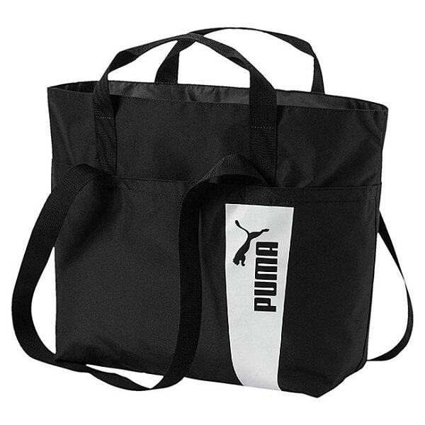 PUMACoreStyle購物袋提袋肩背舒適大容量黑【運動世界】07473801