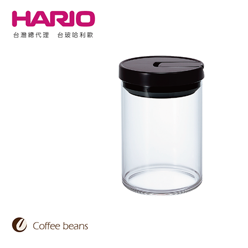 【HARIO】咖啡保鮮罐黑色M / MCN-200B