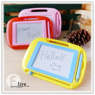 【aife life】磁性寫畫板-小/磁力畫板/留言板/寫字板/塗鴉板/繪畫板/兒童畫板/可重覆使用