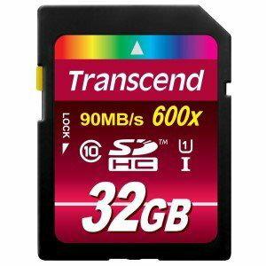【新風尚潮流】創見 SDHC記憶卡 32G 32GB C10 UHS-I U1 600x TS32GSDHC10U1