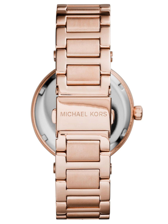 美國Outlet正品代購 MichaelKors MK 復古羅馬鑲鑽紅  陶瓷  三環 手錶 腕錶 MK6086 2