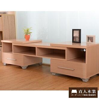 【日本直人木業】生活美學-白橡多功能電視櫃