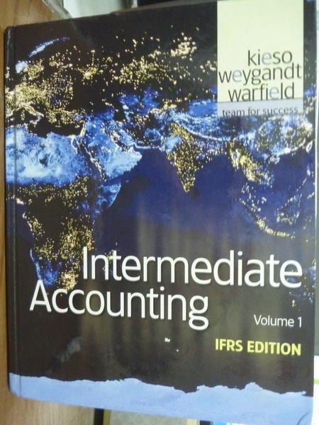 ~書寶 書T2/大學商學_PIG~Intermediate Accounting:Volu