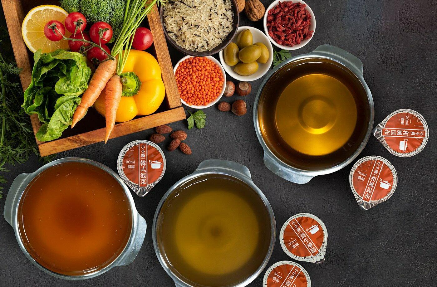 老魯記 韓式泡菜湯膠囊 30g/顆 :6顆/一包火鍋 湯
