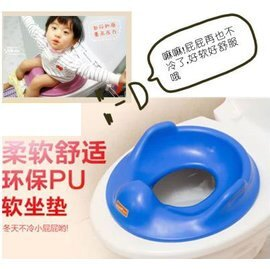 【兒童軟坐便墊-PU-35*30*10cm-1套/組】兒童PU(軟)兒童馬桶坐便器座便墊 寶寶馬桶圈 廁所用品-56017