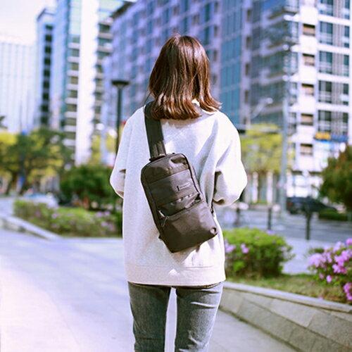 【韓國直送】斜背包韓國LEFTFIELD大容量斜肩包側背包肩背包NO.1301