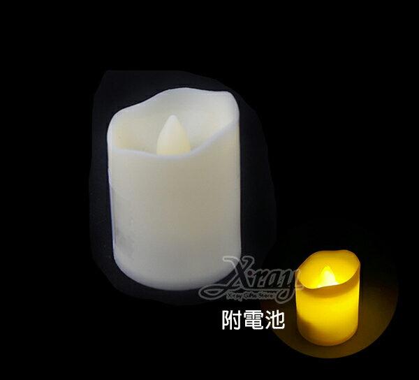 X射線【X075081】塑膠蠟燭,聖誕節/萬聖節/蠟燭/擺飾/派對/燈飾/LED/夜燈/聖誕裝飾/萬聖裝飾/燈/小燈/聖誕燈/燈具