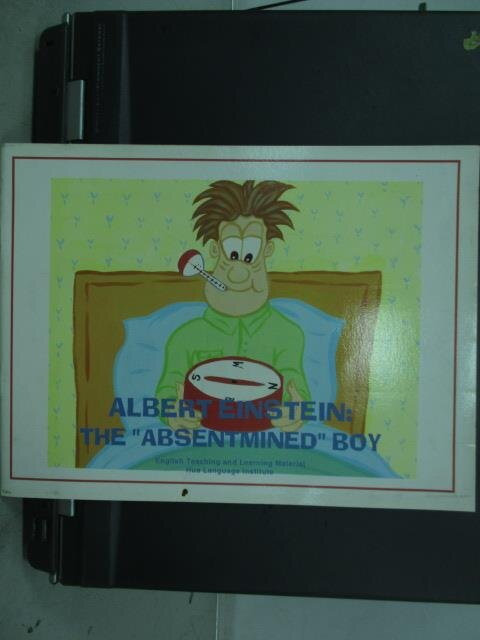 【書寶二手書T1/語言學習_QEG】Albeat Einstein:The Absentimned Boy愛因斯坦
