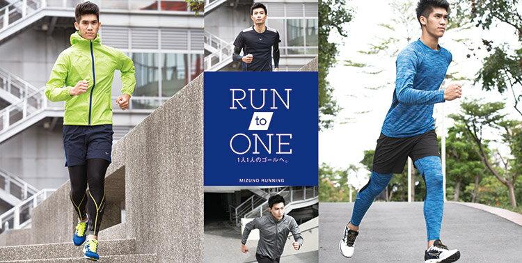 J2MA751022(藍)日本同步上市 昇華印刷 吸汗快乾 男路跑T恤 【美津濃MIZUNO】 1