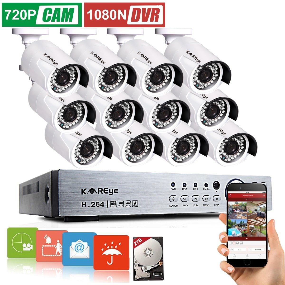 midwestservicecloseouts: 16 Channel 1080N AHD DVR Surveillance ...
