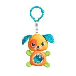 【同價位商品 第二件 66折】Tiny Love 夾偶-轉轉小狗【隨身攜帶並可掛在嬰兒推車、提籃汽座及嬰兒床上】【紫貝殼】