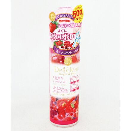 [敵富朗超市]明色Detclear換膚角質凝露/莓果(180ml) - 限時優惠好康折扣