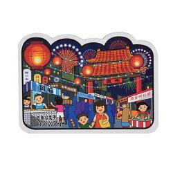 【MILU DESIGN】+PostCard>>台灣旅行明信片-台灣夜市/明信片(台灣美食/觀光/TAIWAN NIGHT MARKET)