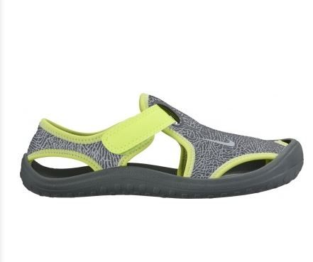 NIKE SUNRAY PROTECT 童鞋 中童 涼鞋 透氣 舒適 灰 綠 【運動世界】 903631-002