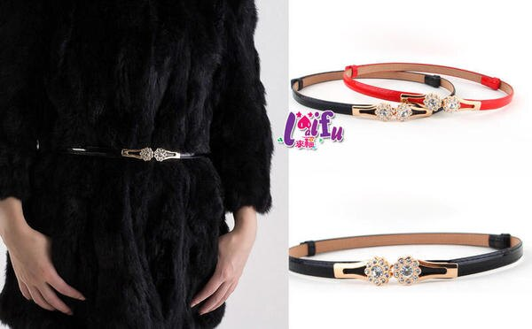 來福皮帶,H801皮帶鑽美腰帶細腰帶皮帶正品,售價220元