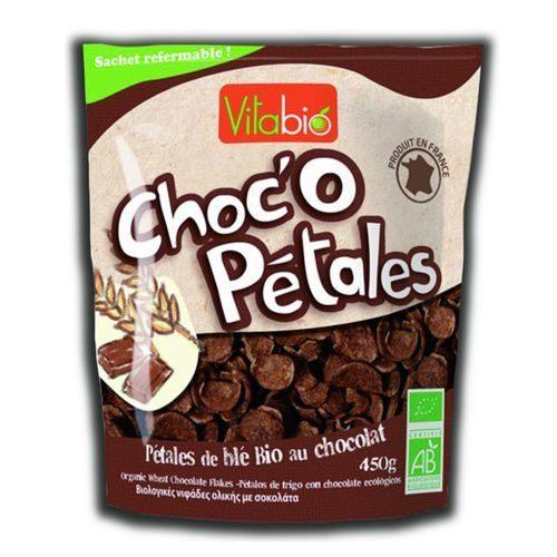 法國Vitabio 有機巧克力營養脆片450g