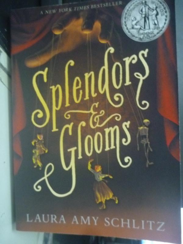 【書寶二手書T6/原文小說_YHQ】Splendors and Glooms 華麗和沮喪_Schlitz