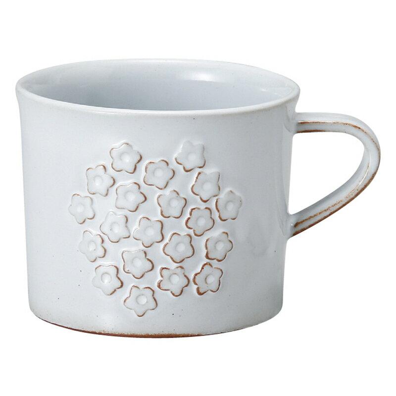 【日本Meister Hand】FLOR 小碎花馬克杯 咖啡杯 水杯 280ml 白色 -618年中慶