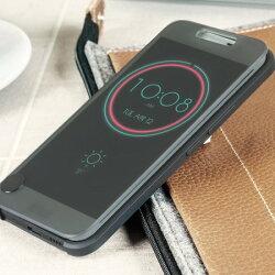 [強強滾]HTC 10 Ice View原裝品質原廠外觀冰感晶透感應保護套 感應視窗皮套 m10
