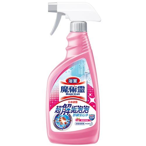 魔術靈浴室清潔劑優雅玫瑰香噴槍瓶500ml