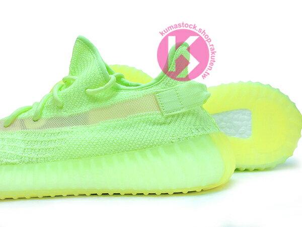 2019 最新 超限量 嘻哈歌手 Kanye West 設計 adidas YEEZY BOOST 350 V2 GID GLOW IN THE DARK 螢光綠 夜光底 PRIMEKNIT 飛織鞋面 ZEBRA SPLV-350 (EG5293) ! 3