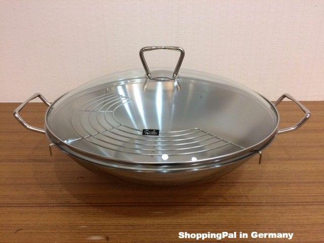 Fissler 昆明 中華炒鍋 35cm含玻璃蓋