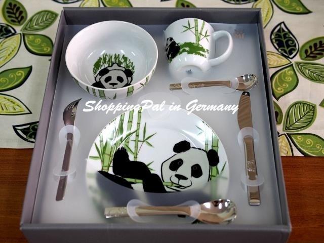WMF 熊貓餐具7件組