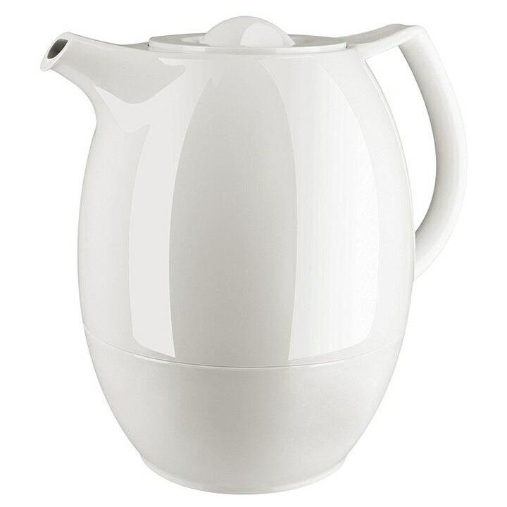 德國 EMSA Ellipse 泡茶 保溫壺 白色,附濾茶網 0.6L / 1.0L (德國製)