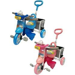 【淘氣寶寶】新款 友誠-可麗兒多功能購物袋三輪車(藍色/粉色)GO-1【台灣生產製造●品質有保證】