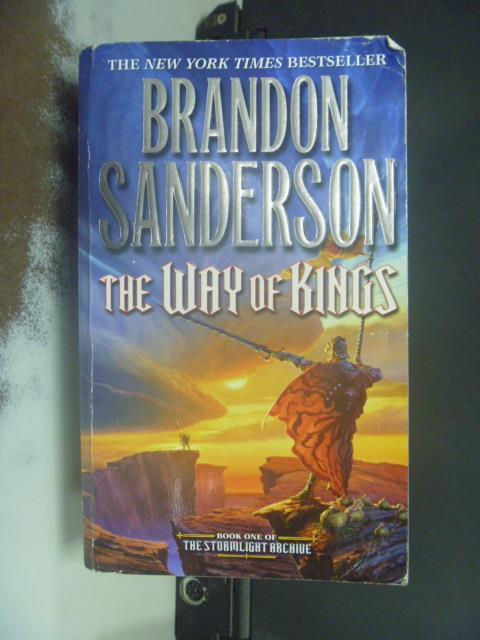 【書寶二手書T5/原文小說_NSK】The Way of Kings_Sanderson