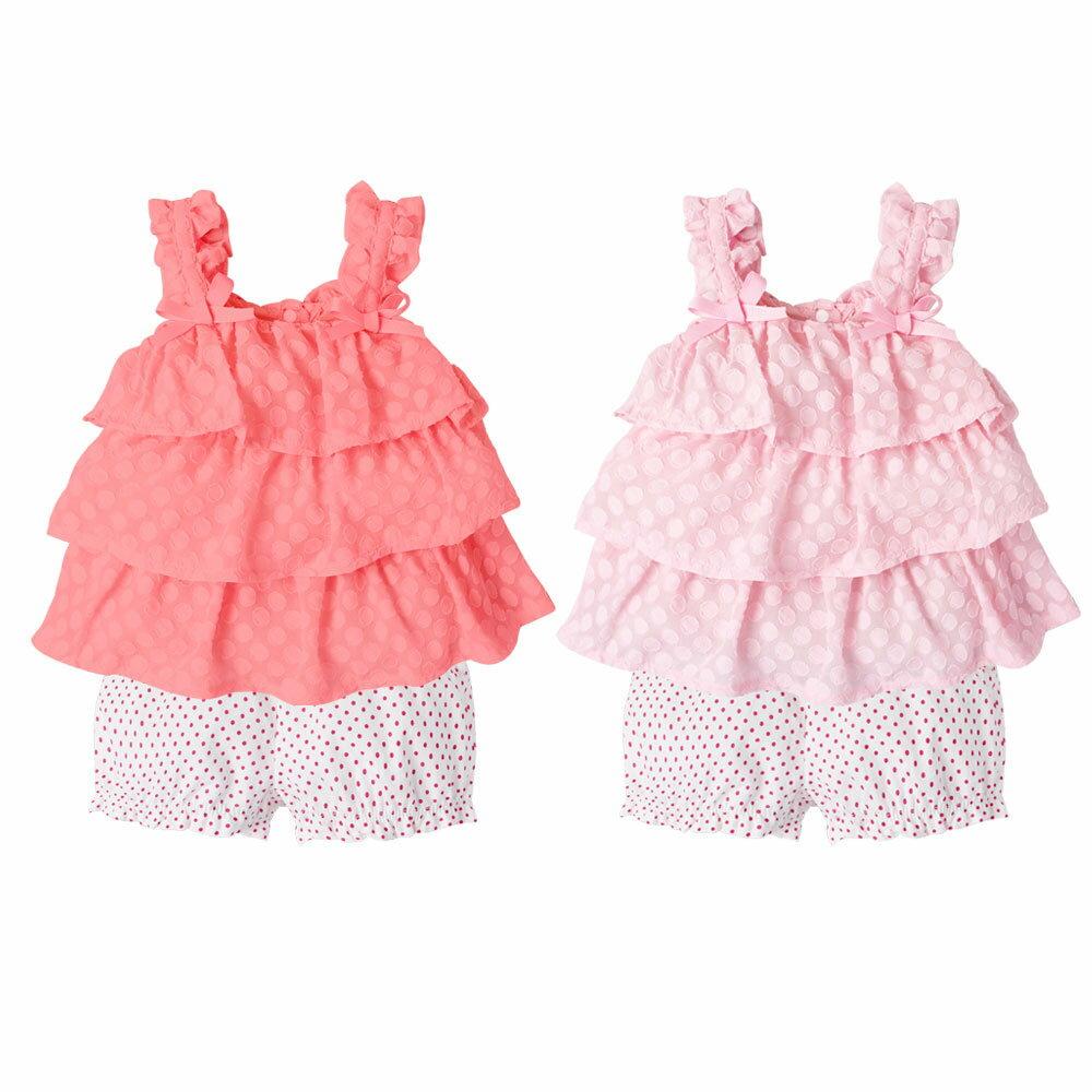 Augelute Baby 無袖蛋糕裙上衣+褲2件/套裝 61138