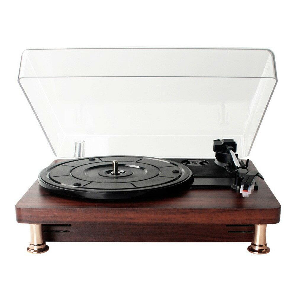 留聲機 仿古便攜復古客廳歐式家用LP黑膠唱片機 老式電唱機